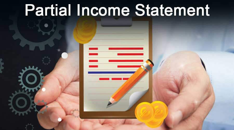 Partial-Income-Statement