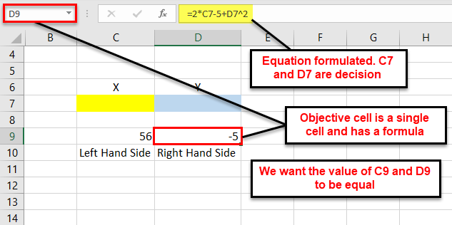 Solver in Excel - step11