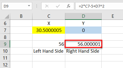 Solver in Excel - step14