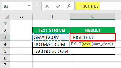 Substring in Excel - Example 2-2