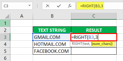 Substring in Excel - Example 2-3