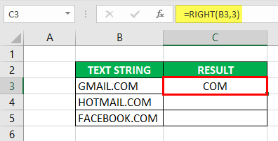 Substring in Excel - Example 2-4