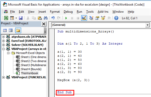 VBA Arrays (Examples, Types) | How to Use Excel VBA Arrays?