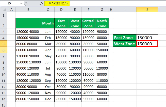 VLOOKUP with multiple criteria Example 3-4