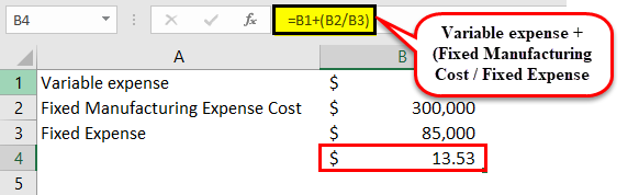 Variable cost income statement example1-11