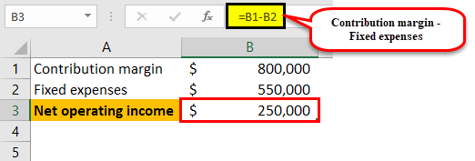 Variable cost income statement example1-9