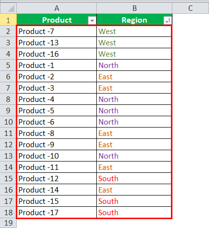 font color data by in excel step 5