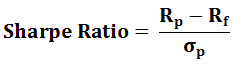sharpe ratio formula