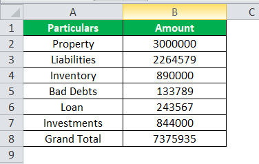 Accounting Number Format 1