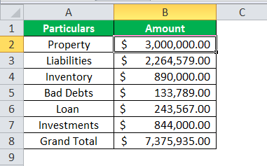 Accounting Number Format 3