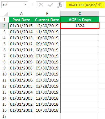 Calculate Age in Excel | How to Calculate Age from Birthday in Excel?