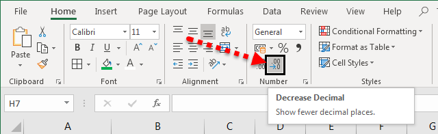 Comma Style in Excel (Shortcut) | How to Use Comma Number