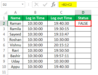 Compare Two Columns in Excel (Top 4 Quick and Easy Methods)