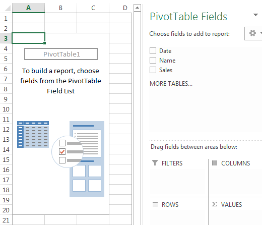 Conditional Formatting Pivot Tables Example 1-3