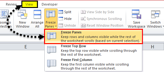 Freeze Panes in Excel | How to Freeze Rows & Columns in Excel?