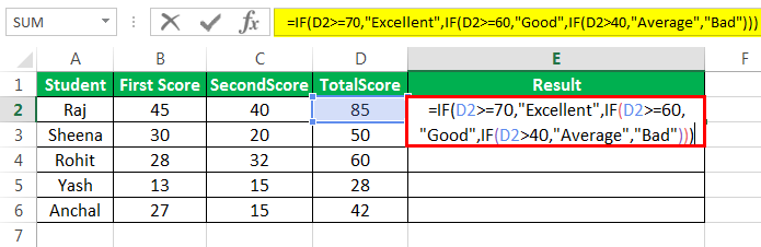 Multiple ifs Example 2