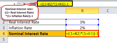 Nominal Interest Rate example 2.1