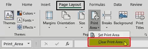 Print in Excel - 7