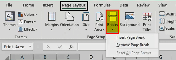 Print in Excel - 8