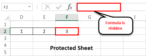 Protect sheet Example 3-2