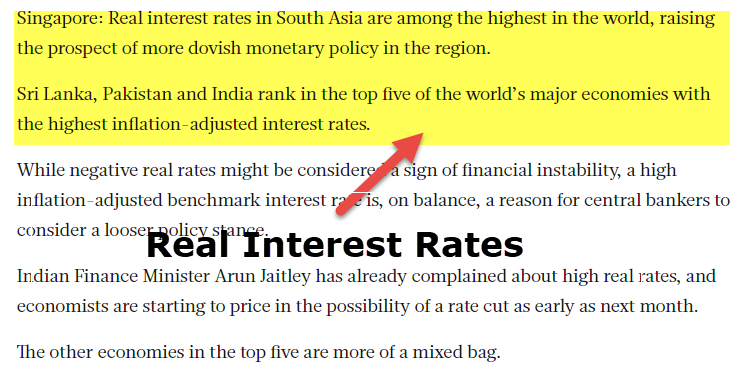 Real Interest Rate 1