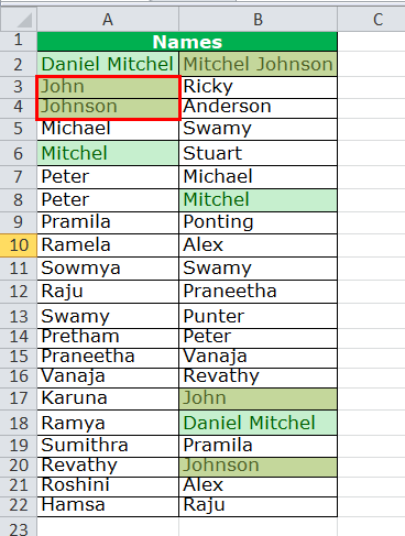 Search in Excel   SEARCH Function, Custom Formatting