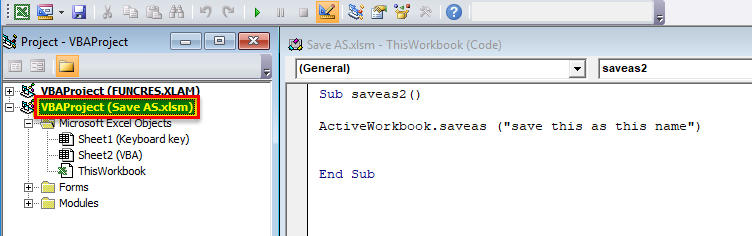 Use VBA method 4