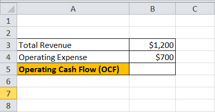 Operating Cash Flow example1.1