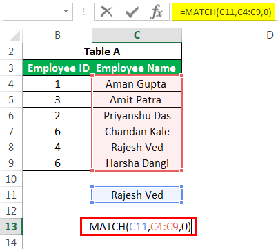 Advanced Match Example 3
