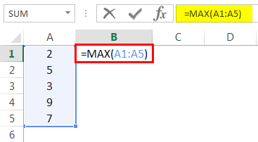 Basic Max Example 7