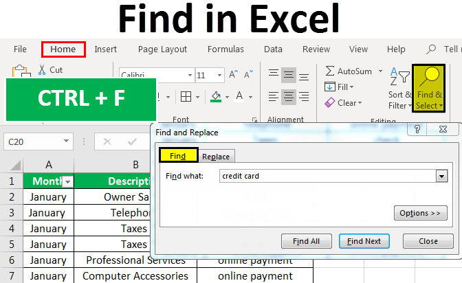 Find-in-Excel