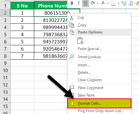 Format Phone Number Example 2-2
