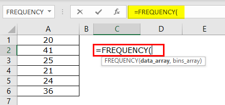Frequency Example 1-1