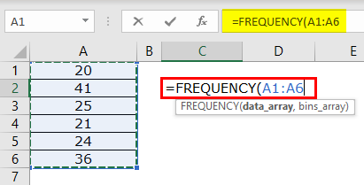 Frequency Example 1-2