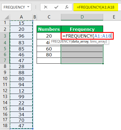 Frequency Example 2-2