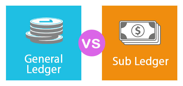 General Ledger vs Sub Ledger | Top 9 Differences (with