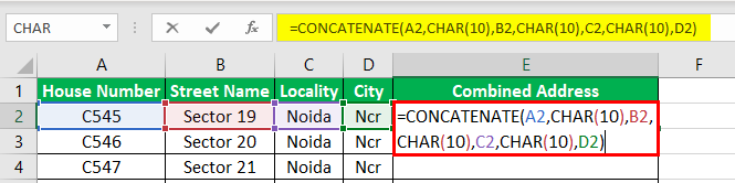 Line Breaks in Excel | How to Insert Line Break with Excel Formula?