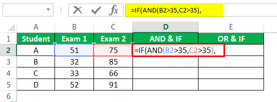 logical Test in excel Example 3-2