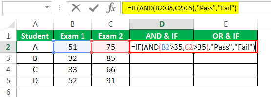 logical Test in excel Example 3-4