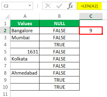 NULL Example 1-7