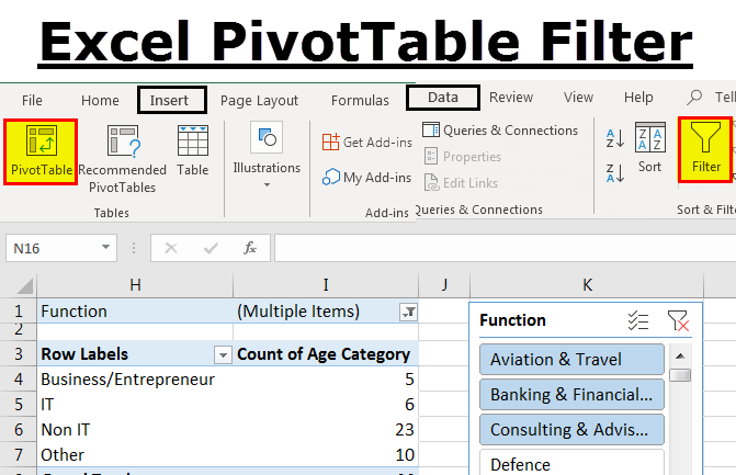 PIVOT-TABLE-Filter
