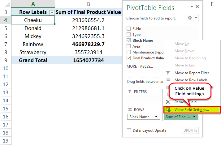 Pivot Table Count Example 1-2