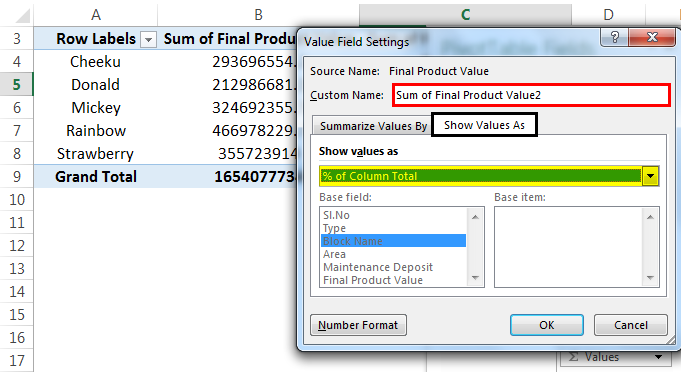 Examples of Pivot Table in Excel | Practice Exercises with