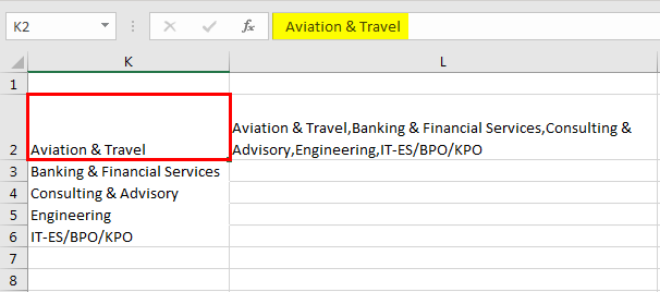 Pivot table Filter example 5.4