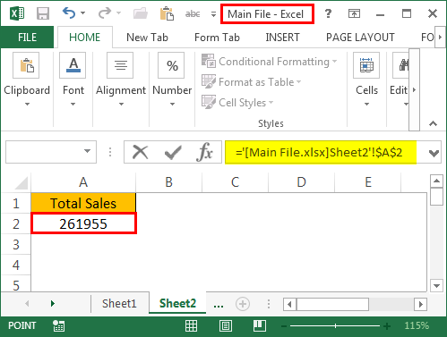 Excel Reference to Another Sheet | How to Refer Cell from ...