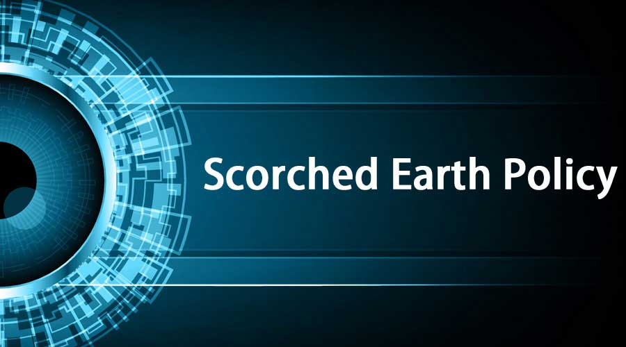 Scorched-Earth-Policy