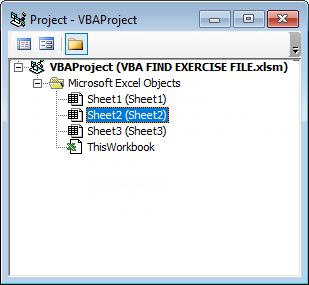 VBA Find Example 2-2