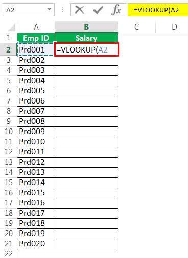 Vlookup From Anothersheet Example 2-1