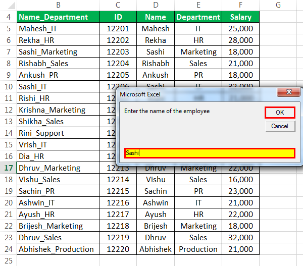 Vlookup-with-Vba-Example-3-5 Vba Excel Worksheet Name Variable on excel tab name, excel chart name, excel timesheet spreadsheet template, excel spreadsheet name, excel workbook, excel sheet,