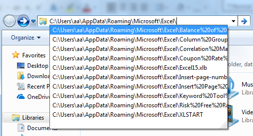 autosave in excel example 1.7